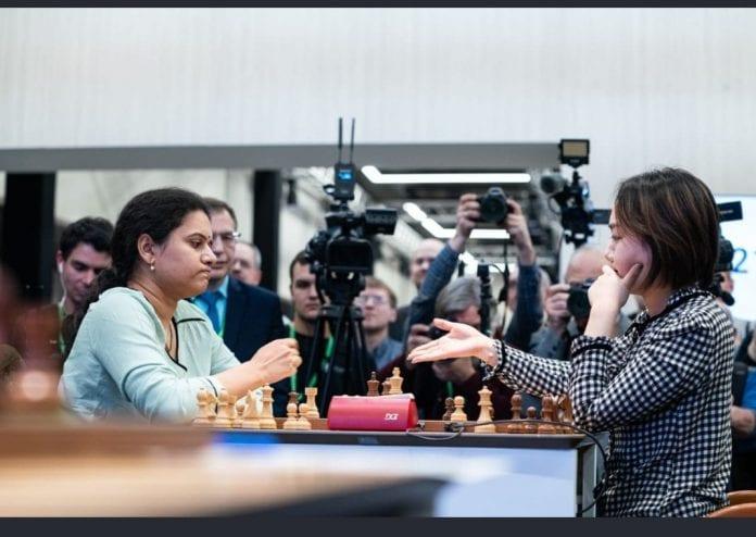 Koneru Humpy, grandmaster, chess, women's world rapid chess championship
