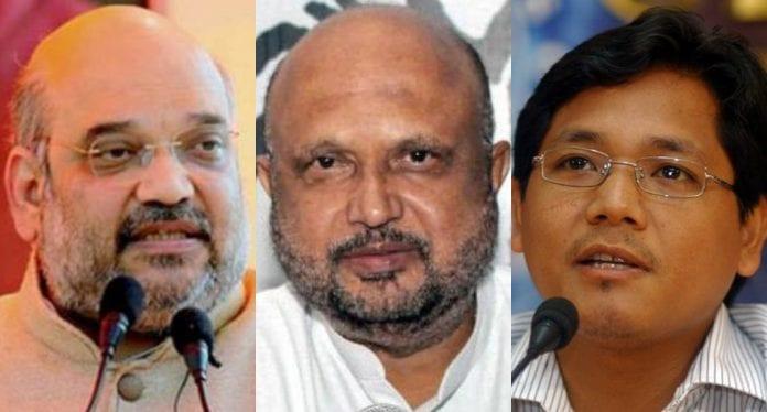 BJP, JD (U), Assam, Guwahati, north-east, protest, Citizenship Act, police, clash, AGP, Conrad Sangma, Amit Shah, Modi