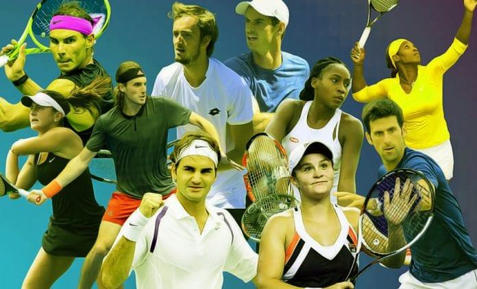 Tennis in 2019, Roger Federer, Novak Djokovic, Rafael Nadal, Daniil Medvedev, Stefanos Tsitsipas, Coco Gauff, Wimbledon finals, ATP Tour Finals, Bianca Andreescu
