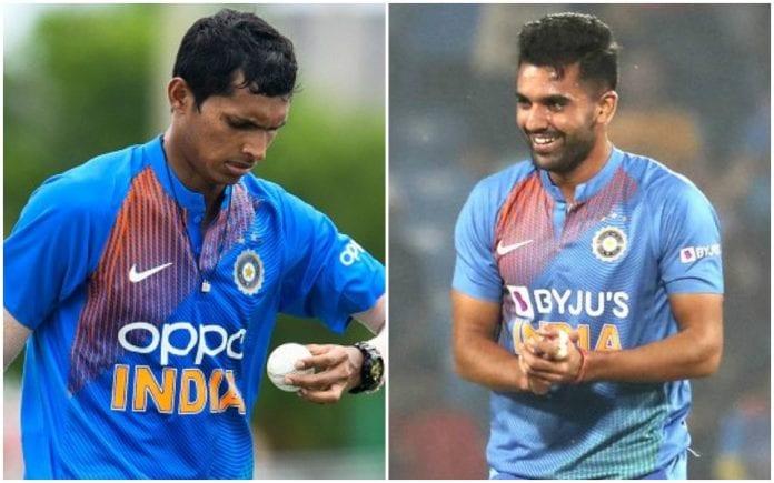 Deepak Chahar, Navdeep Saini, India vs West Indies, West Indies tour of India, third ODI, Chennai Super Kings