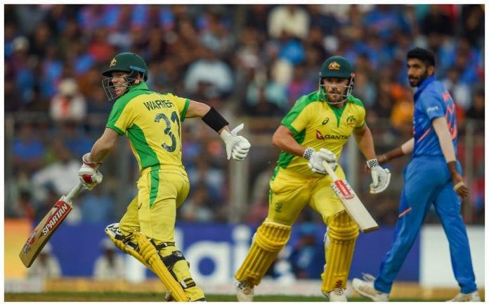 Aaron Finch David Warner Jasprit Bumrah India vs Australia ODI