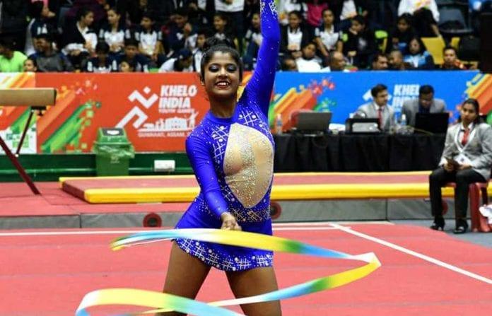 Khelo India Youth Games, Khelo India Games, Gymnastics, Priyanka Dasgupta, Jatin Kumar Kanojia