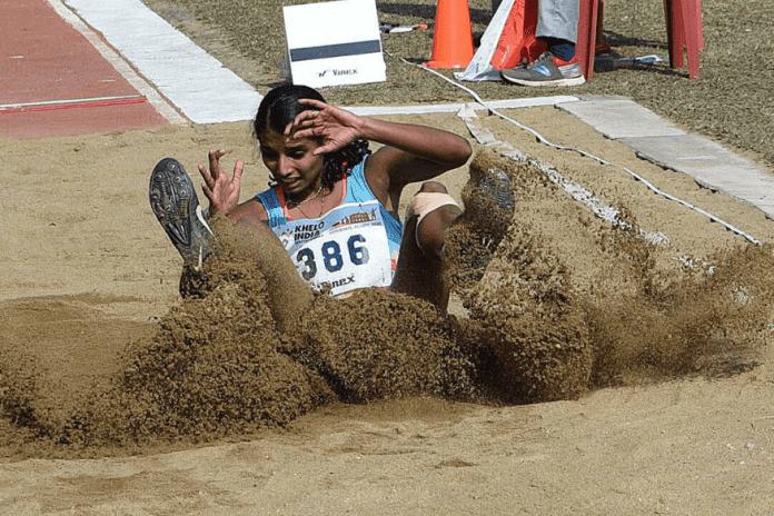 Ancy Sojan, Khelo India Youth Games, Khelo India Games, Sherin Abdul Gafoor, Nuzrat Ali, Sadanand Kumar