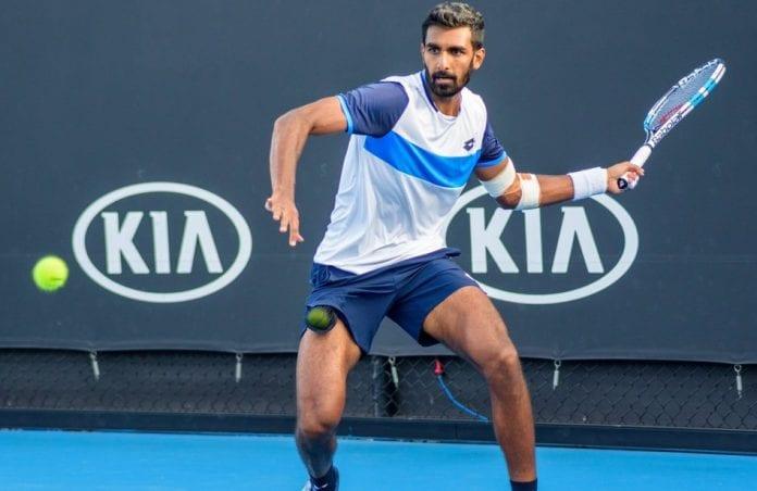 Prajnesh Gunneswaran, Novak Djokovic, Australian Open, Tatsuma Ito