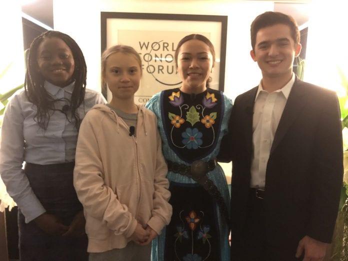 Greta Thunberg, World Economic Forum, climate change, Davos climate awareness, global warming, climate activist