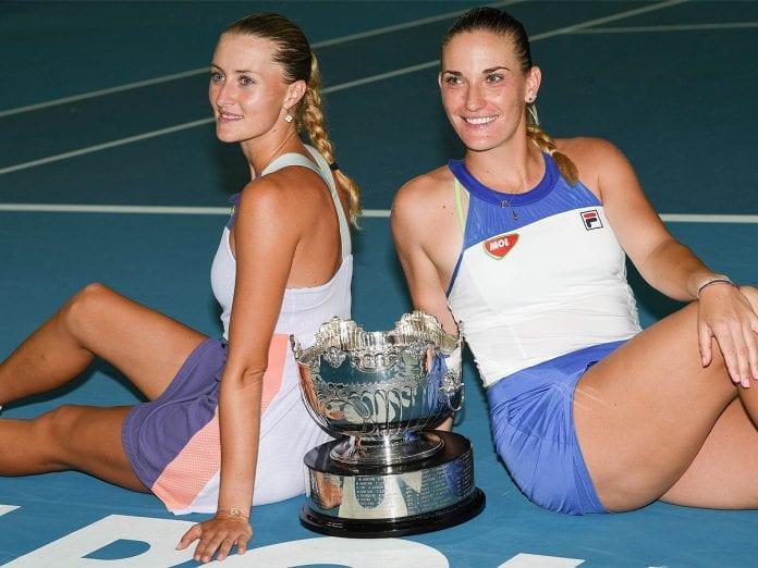 Kristina Mladenovic, Timea Babos, Australian Open, Australian Open final, women's doubles