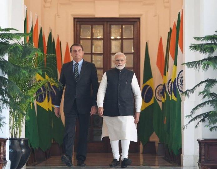 Narendra Modi, Brazilian President, Jair Bolsonaro, talks, bilateral ties, strategic ties, India, Brazil