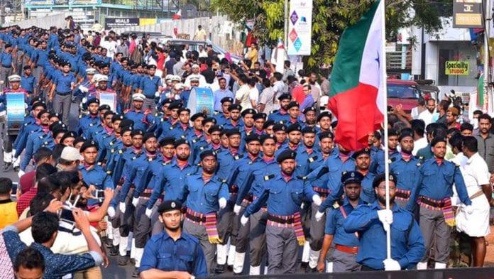 PFI SDPI Students march