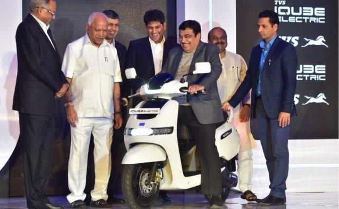 TVS Motors, e-scooter, electric scooter, ₹1.15 lakh, TVS iQube Electric, TVS SmartXonnect, Venu Srinivasan, chairman