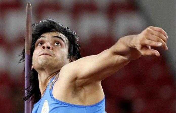 Neeraj Chopra, 2020 Tokyo Olympics, Indian athletics, javelin