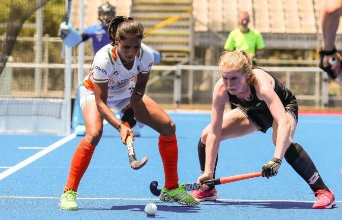 Indian women's hockey team, New Zealand, Olympic year, 2020 Tokyo Olympics