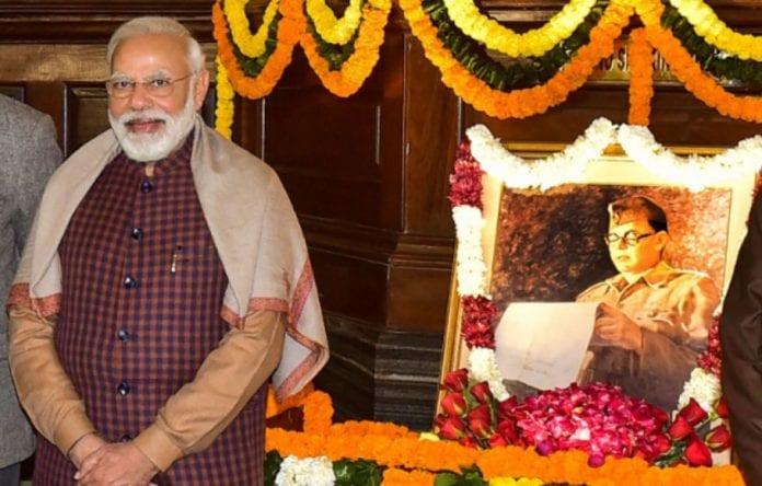 Modi and Netaji