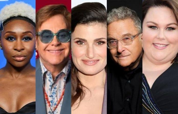 Oscars 2020, Academy Awards, Cynthia Erivo, Elton John, Idina Menzel, Chrissy Metz, Randy Newman, Marriage Story, Toy Story 4, Frozen II, Rocketman