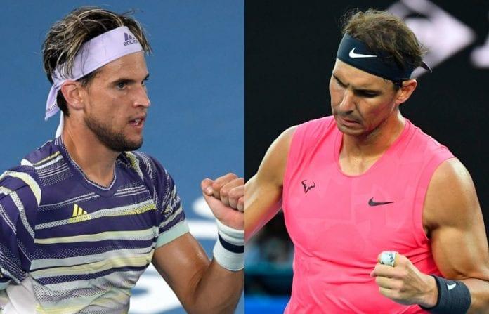 Dominic Thiem, Rafael Nadal, Roger Federer, Novak Djokovic, Alexander Zverev, Stan Wawrinka, Semi finals, Australian Open