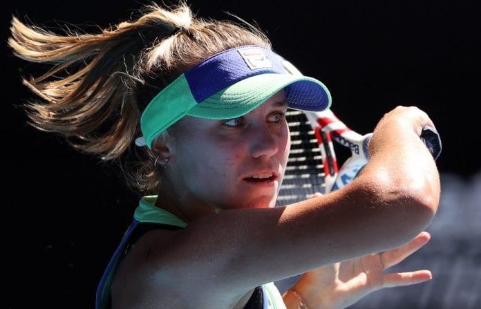 Ashleigh Barty, Sofia Kenin, Simona Halep, Gabrine Muguruza, Australian Open, Rod Laver Arena, Australian Open finals