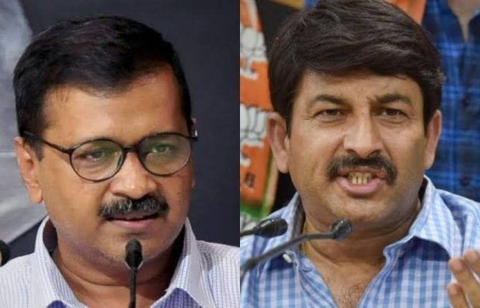 Aam Aadmi Party, AAP, BJP, Delhi BJP, Manoj Tiwari, Delhi BJP president, Arvind Kejriwal, AAP campaign video, defamation