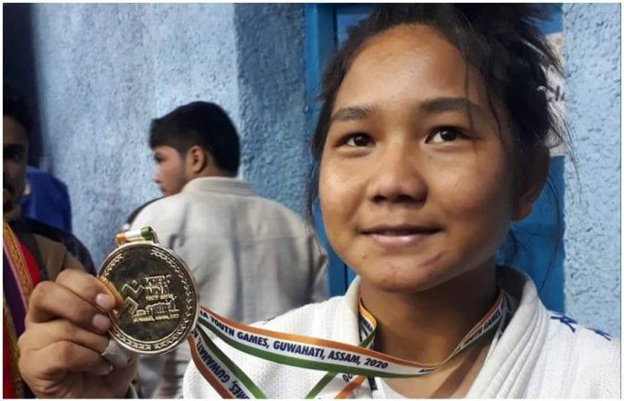 Puja Basumatary, judo, judoka, Khelo India Youth Games, Khelo India Games, Yashpal Solanki