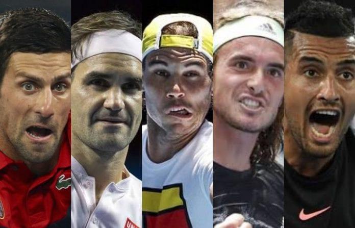 Australian Open, Novak Djokovic, Rafael Nadal, Roger Federer, Stefanos Tsitsipas, Nick Kyrgios, ATP Cup, Australia bushfires, bushfires