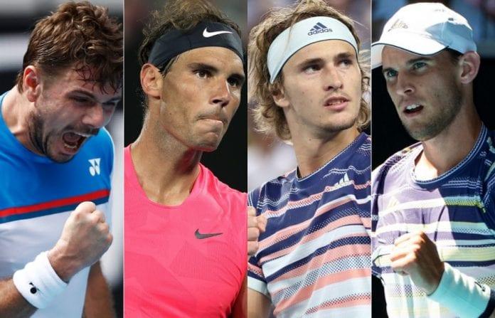 Rafael Nadal, Stan Wawrinka, Dominic Thiem, Alexander Zverev, Australian Open, quarter-finals, Daniil Medvedev, Gael Monfils, Nick Kyrgios, Andrey Rublev