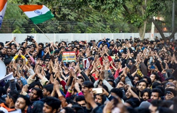 Jamia millia, CAA, Delhi assembly elections