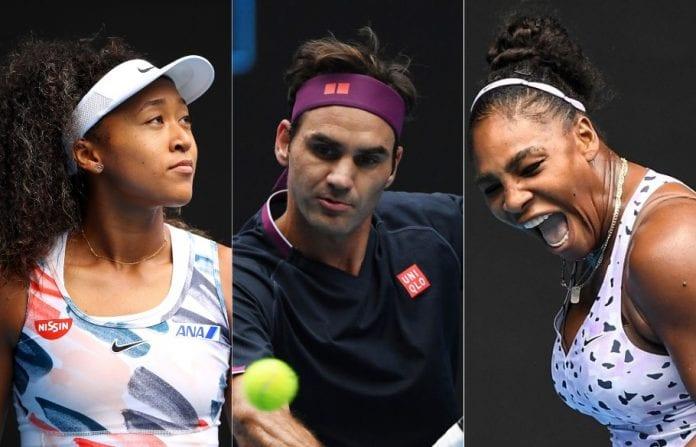 Australian Open, Roger Federer, Naomi Osaka, Serena Williams, Australia bushfires, Melbourne Park, Ashleigh Barty, Venus Williams, Coco Gauff,