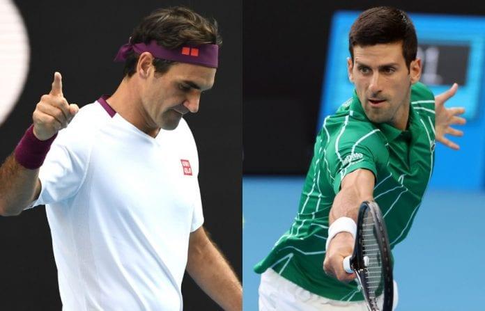 Novak Djokovic, Roger Federer, Australian Open, Grand Slam, semi-finals, Rod Laver Arena, Milos Raonic, Tennys Sandgren, Kobe Bryant