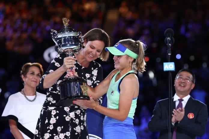 Sofia Kenin, Gabrine Muguruza, Australian Open, Australian Open finals