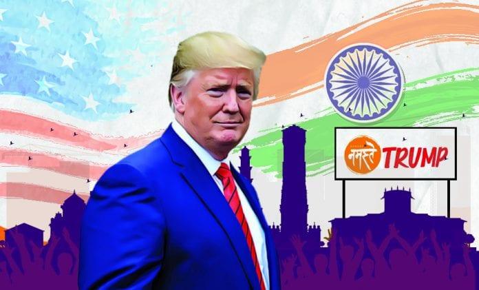 Namaste Trump India visit US