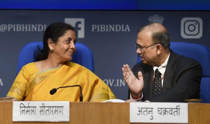 Nirmala Sitharaman budget finance revenue