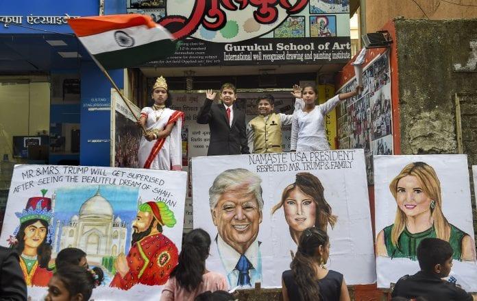 Trump India Visit, US President, Donald Trump, Melanie Trump, Motera Stadium, Taj Mahal