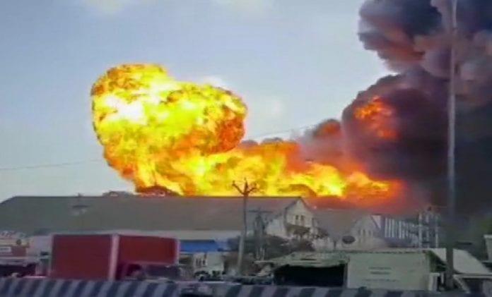 fire, chemical godown, explosion, Madhavaram, Chennaim, air quality, residents, medicines