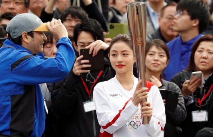 2020 Tokyo Olympics, Torch rehearsal, Coronavirus outbreak,