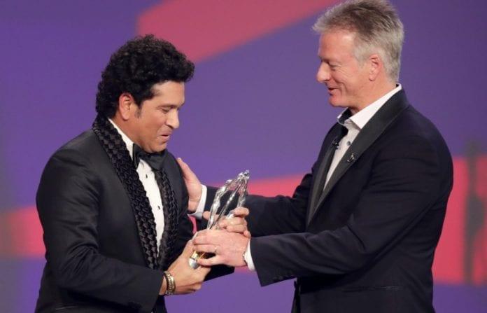 Laureus Awards, Sachin Tendulkar, Lap of Honour, 2011 World Cup,