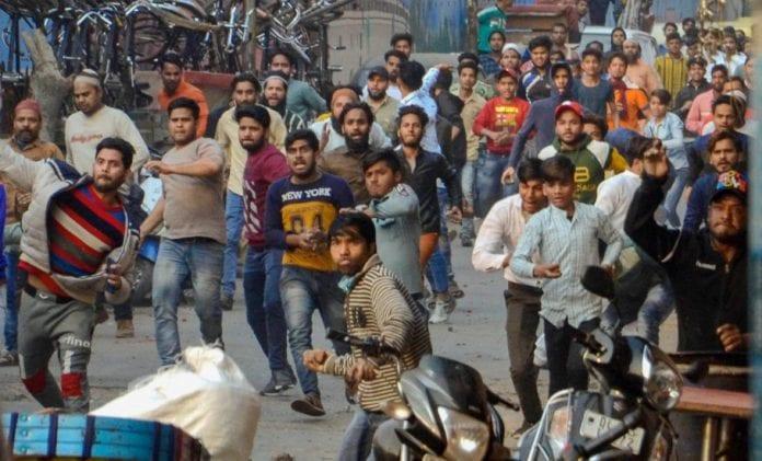 Clashes in Delhi