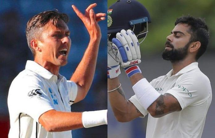 Trent Boult, Virat Kohli, India vs New Zealand, India tour of New Zealand