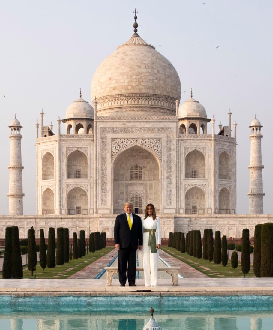 Trump in India