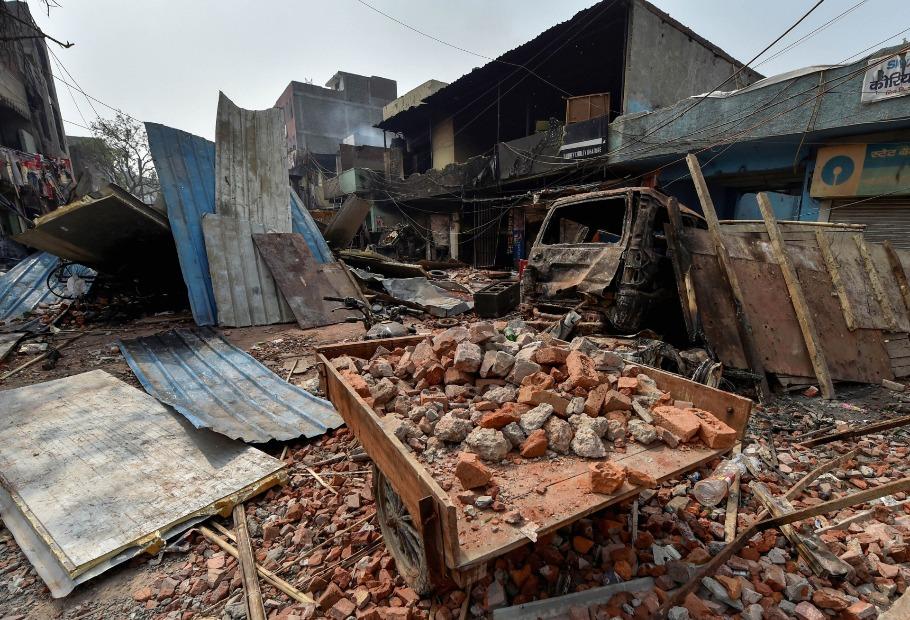 Delhi violence aftermath