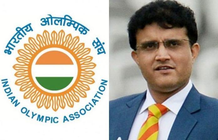Goodwill Ambassador, 2020 Tokyo Olympics, Sourav Ganguly, BCCI President, Indian Olympic Association