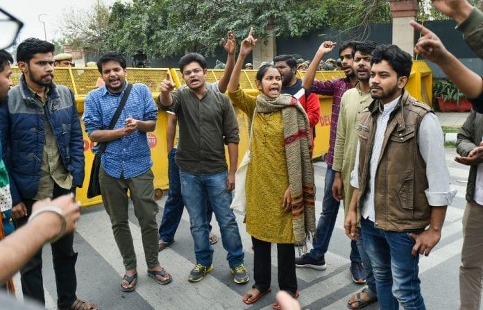 JNU, JNUSU, Delhi riots, Delhi violence, Delhi Police, Anti-CAA protests, Pro-CAA protests