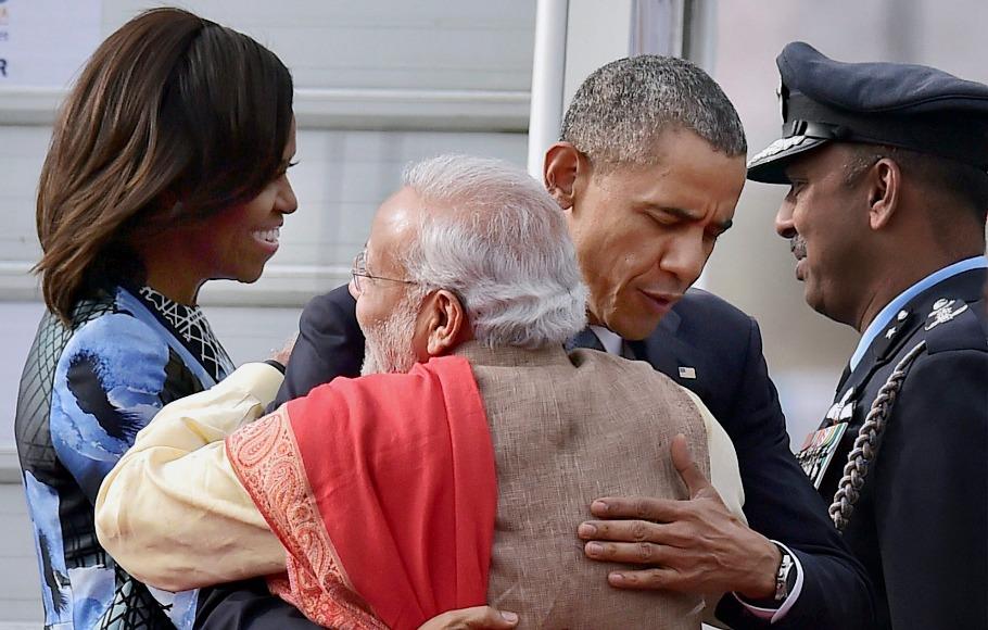 Obama Modi