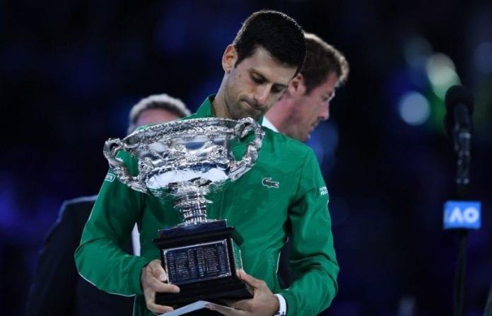 Australian open final, Australian Open, Novak Djokovic, Dominic Thiem, Rod Laver Arena