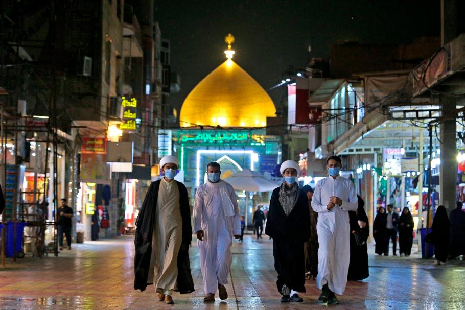 Global coronavirus Iraq Najaf mosque