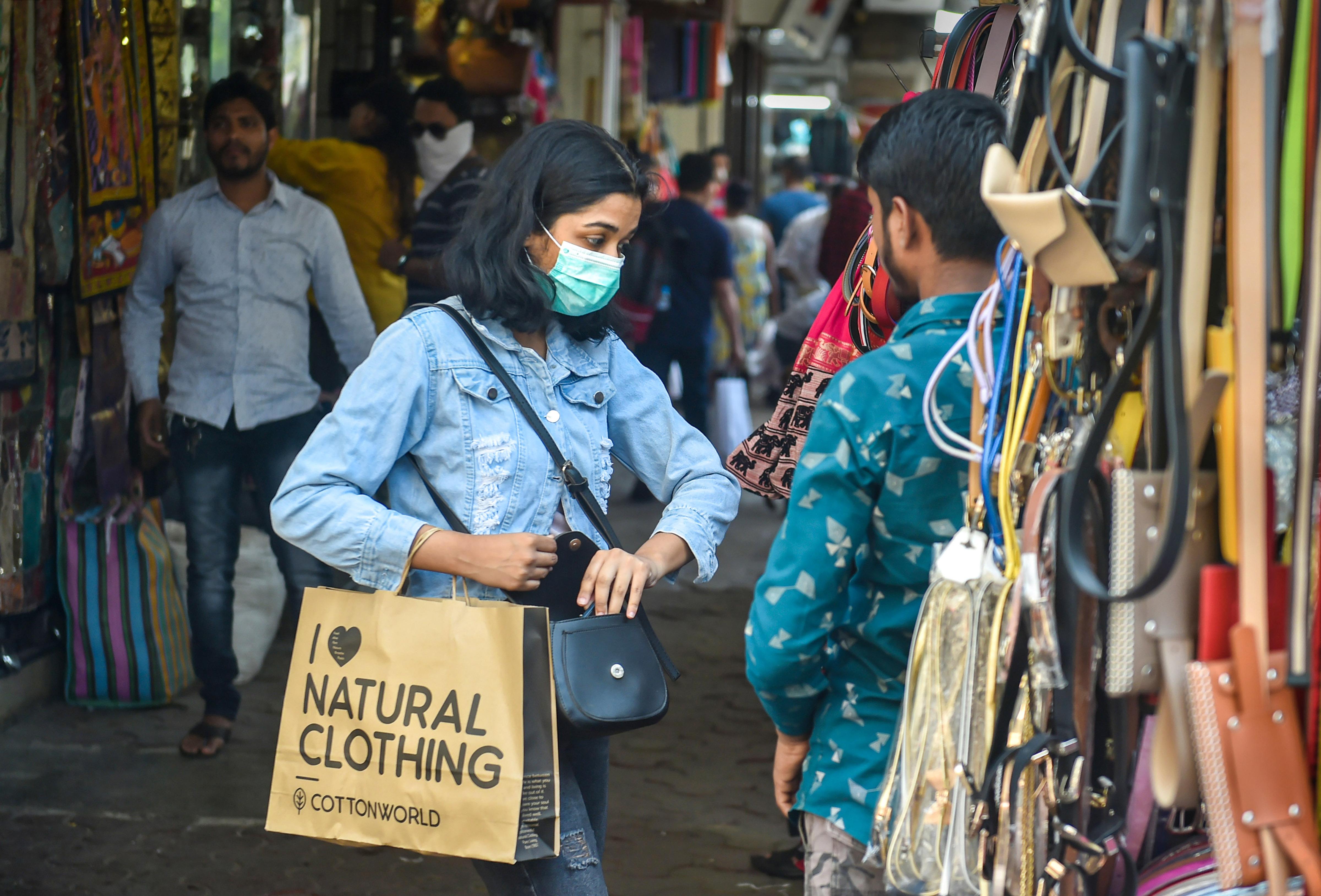 Coronavirus pandemic Mumbai