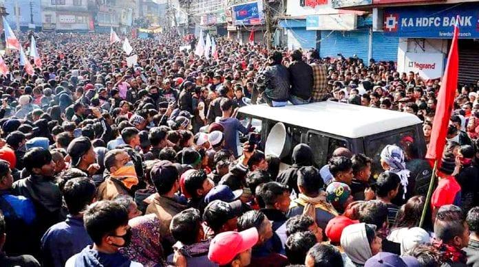 CAA Shillong violence Meghalaya
