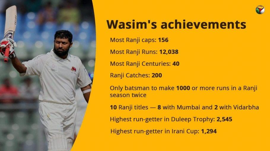 Wasim Jaffer, Ranji Trophy, Domestic Cricket
