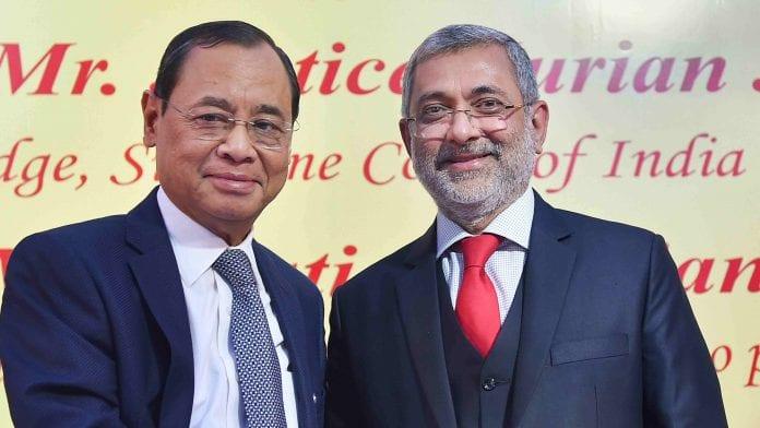 Kurian Joseph, Chief Justice of India, Ranjan Gogoi, Justice Lokur, Rajya Sabha elections