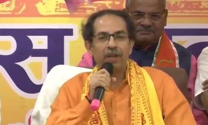 Uddhav Thackeray, Maharashtra Chief Minister, Shiv Sena, Ayodhya, Ram Temple