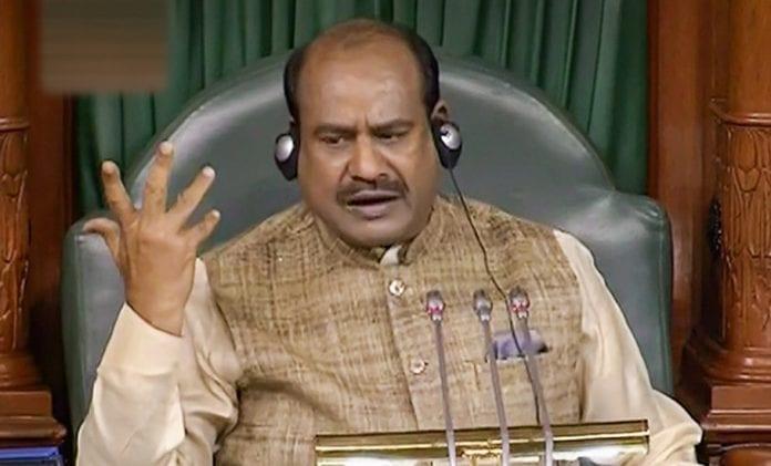 Speaker, Om Birla, suspension, Congress MPs, Budget session, Parliament, Lok Sabha, Rajya Sabha