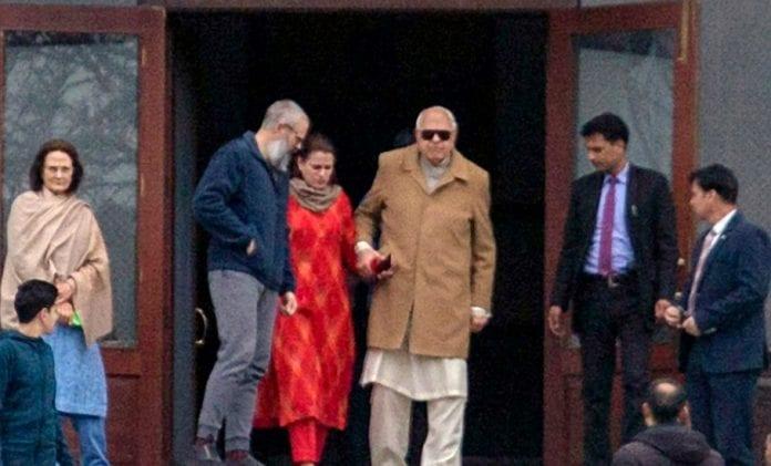 Farooq Abdullah, Omar Abdullah, Jammu and Kashmir, abrogation of Article 370, Public Safety Act,