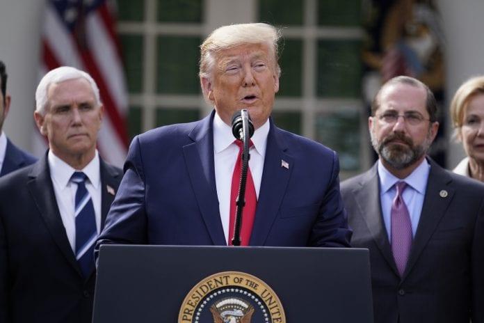 Donald Trump, national emergency, coronavirus, federal funds, $50 billion, eight weeks